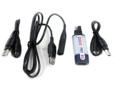 Akü Bağlantı ve USB Kabloları