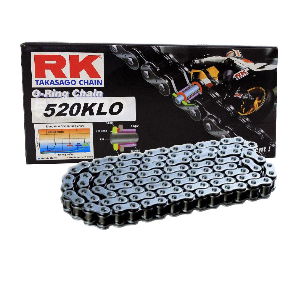 Yamaha YZF-R25 Rk O-Ring Zincir 520 Klo 112L