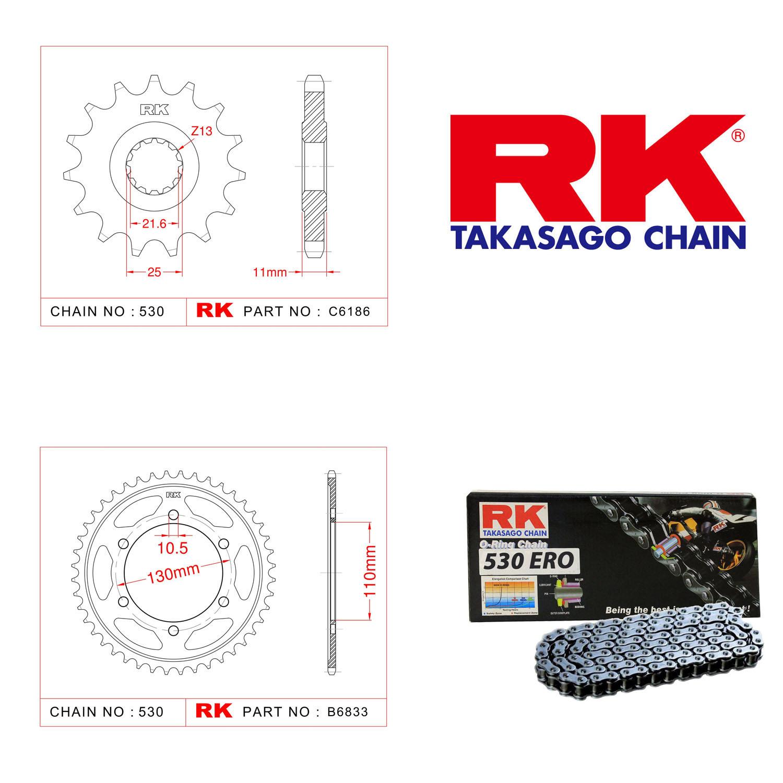 Rk Zincir Dişli Set 530 ERO O-Ring 16/46T
