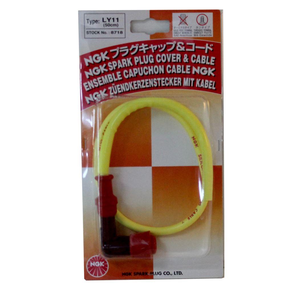 Buji Başı Kısa Buji Kablosu (Racing Cable) 50 cmm