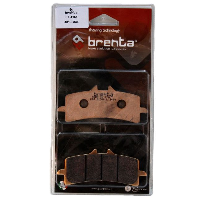 Kawasaki H2 NINJA Disk Brenta Sinter Metal Fren Balata