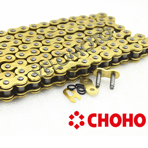 Choho O-Ring Zincir 520 Ho 112L Golden